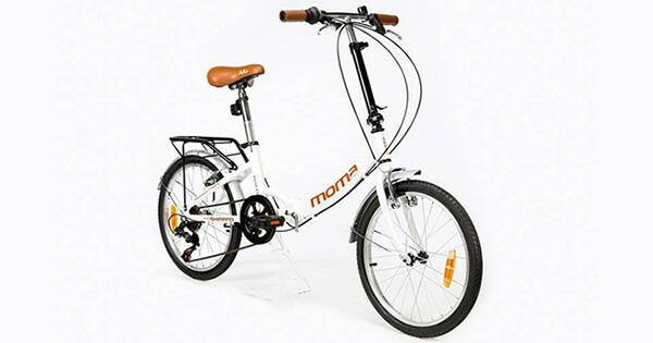 Moma bikes vélo pliant blanc