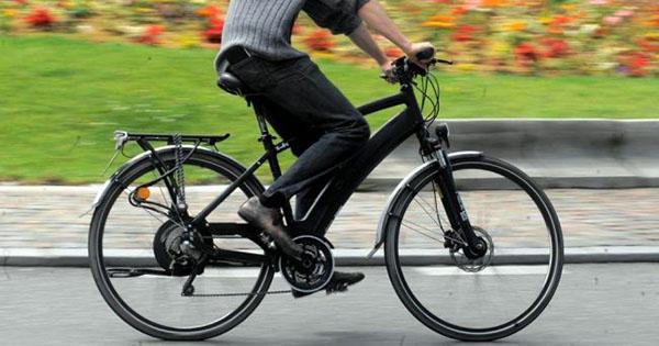 Vélo électrique rapide
