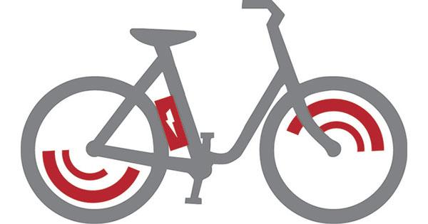 Vélo électrique schéma