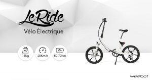 vélo-électrique-Weebot-Ride