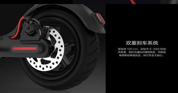 Avis et test de la Xiaomi M365 Pro - Pneus
