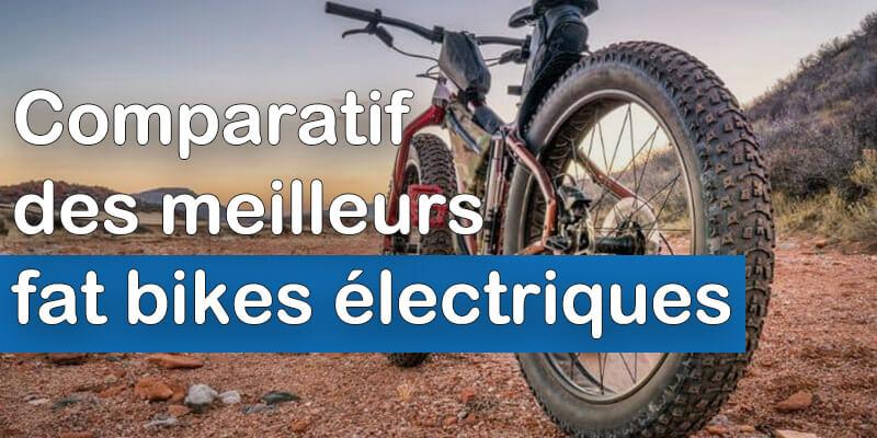 Comparatif meilleurs fat bikes électriques
