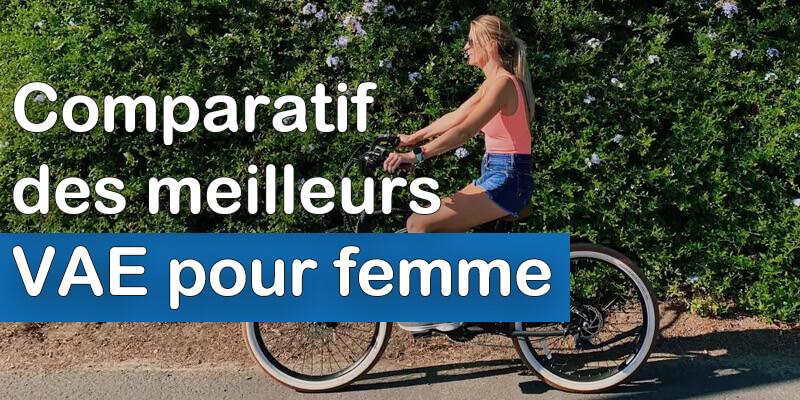 Comparatif meilleurs vélos électriques femme