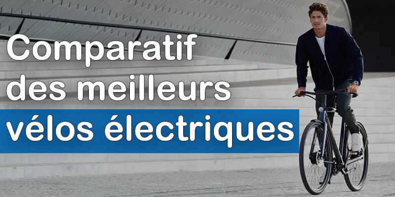 Comparatif meilleurs vélos électriques
