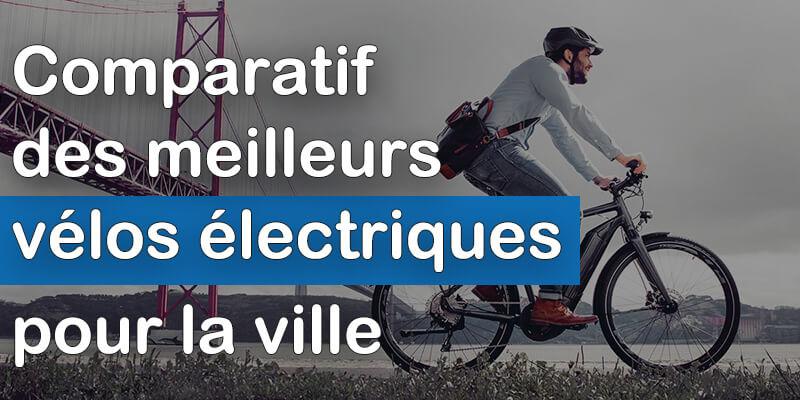Comparatif meilleurs vélos électriques pour la ville