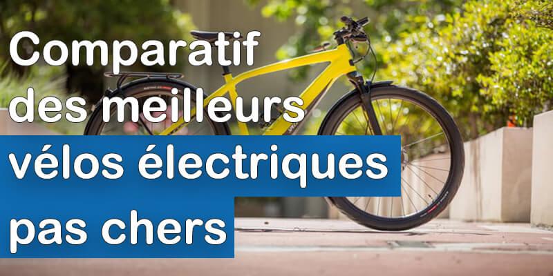 Meilleurs vélos électriques pas chers