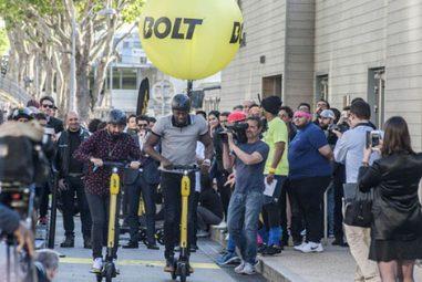 Trottinettes électriques: arrivée d'Usain Bolt sur le marché !