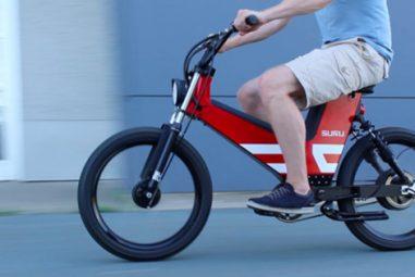 Scrambler: un vélo électrique à mi-chemin du scooter