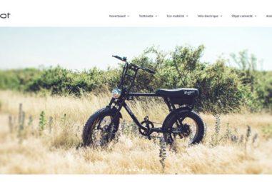 Weebot, start-up française, experte en vélos et trottinettes électriques.