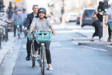 Anne Hidalgo veut faire de Paris une ville mondiale du vélo